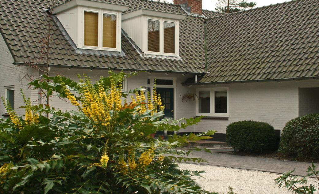 tuinontwerp voor de herinrichting van een tuin in Bilthoven door Overbeek-Gardendesign