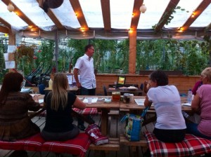 overbeek gardendesign workshop in de tuin
