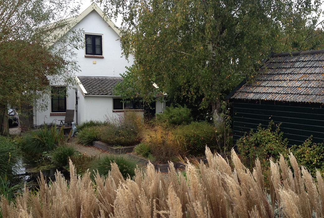 duurzame tuin in het groen overbeek gardendesign